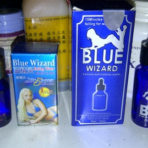 blue wizard cair
