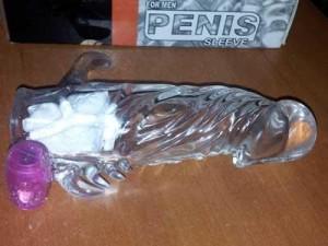 Kondom Silikon Badak Getar