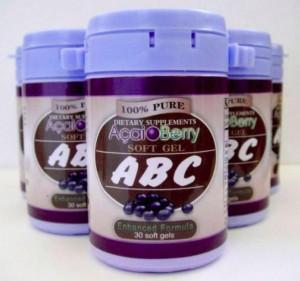 Obat Pelangsing Abc Acai Berry