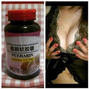 Puerarin Soft Capsule Payudara, Jual pembesar payudara malang